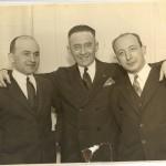 """Братья - """"американцы"""": Юда, Мейер, Ной, 1926 год"""