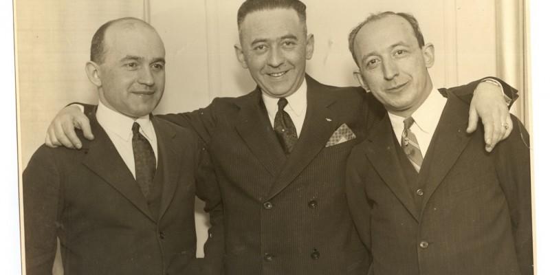Братья — «американцы»:  Юда, Мейер, Ной, 1926 год