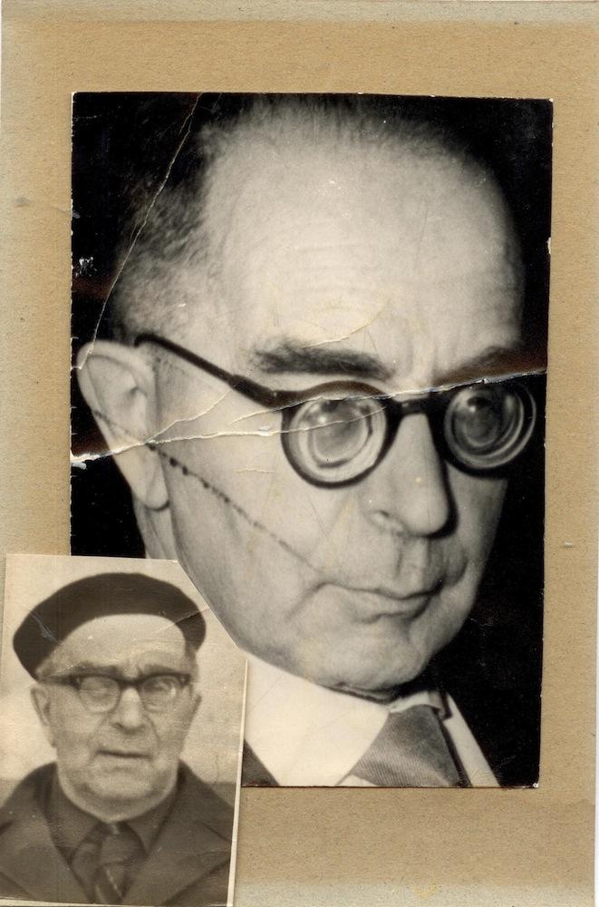 Папа Юрий Михайлович Золотарев (1900-1969) — 1958 год и последнее фото (осень 1969 г.)