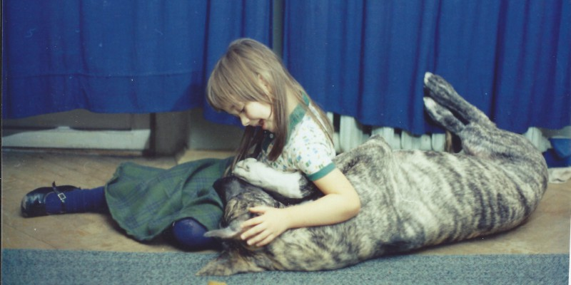 Дочь Аня с Джагой
