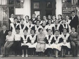 """1956 год: выпуск нашего 10""""А"""""""