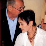 С женой Таней, 2010 год