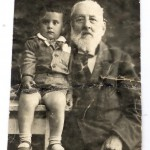 С дедушкой Давидом Минкиным