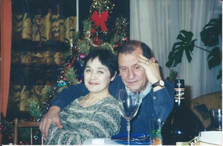 С Таней: празднование Нового 2008 года