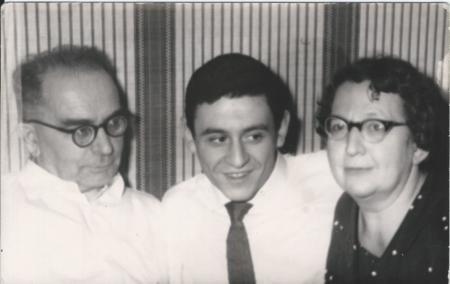 1965 год с родителями